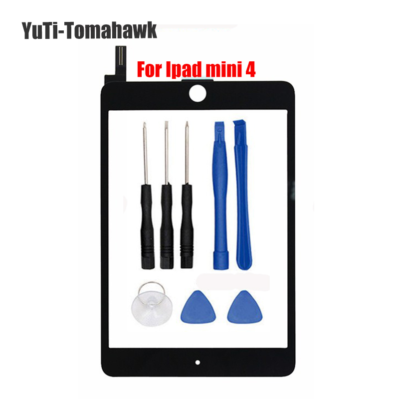 BM OEM High Quality Replacement Touchscreen For ipad mini 4 Touch screen digitizer glass panel repair & Tools wholesale new 4 0 inch touchscreen for garmin montana 610 610t touch screen digitizer glass sensors panel repair replacement