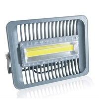 СВЕТОДИОДНЫЙ световой прожектор 30 Вт 50 Вт 100 Вт IP65 AC 220 В Smart IC COB Светодиодный прожектор на открытом воздухе настенный светильник, холодное бе...