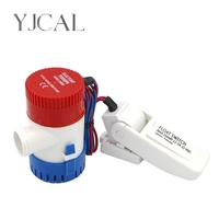 Bilge Pump 1100GPH DC 12V 24V Float Switch Combination Suit Electric Water Pump For Aquario Submersible