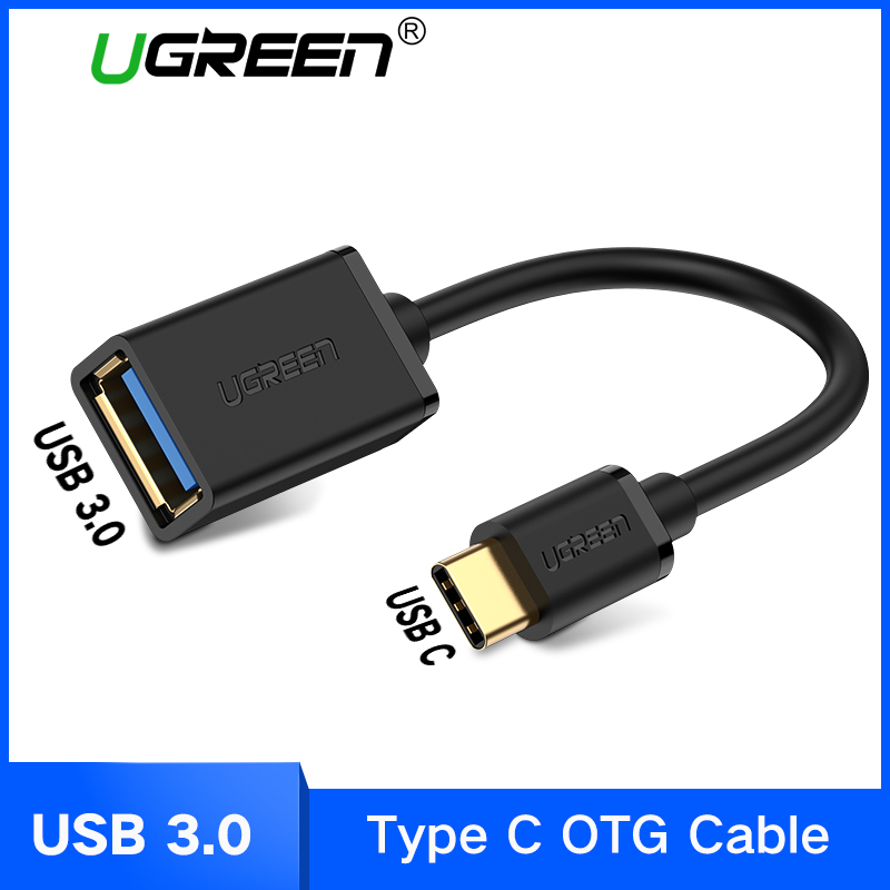 Ugreen USB C Adapter OTG Cable Type C To USB 3.0 USB 2.0 Thunderbolt 3 OTG Type-C Adapter For Samsung One Plus MacBook USBC OTG(China)