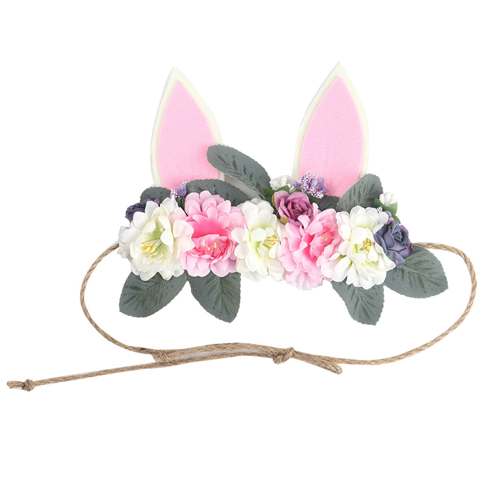 1Pc Cute Baby Girl Headbands Toddler Infant Kids Flower Headband Stretch Hairband Headwear Baby Girl Hair Accessories(China)