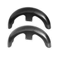 Motorcycle Unpainted/painted Black 21 Wrap Front Fender For Harley Touring Custom Baggers