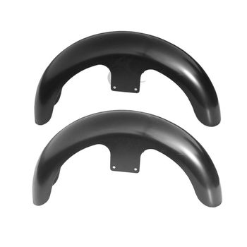 """Motorcycle Unpainted/painted Black 21"""" Wrap Front Fender For Harley Touring Custom Baggers"""