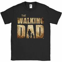 The Walking Dad Parody Father Son Fathers Day Mens T Shirt O Neck T Shirt Short