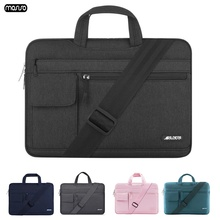 MOSISO Laptop Bag Case 15.6 15.4 14 13.3 Messenger Bags Women for MacBook Air 13 Waterproof Notebook Bag for MacBook Pro 15 Men gearmax laptop messenger bag 11 12 13 14 15 men s bag for macbook air pro 13 nylon waterproof notebook bag for xiaomi pro 15 6