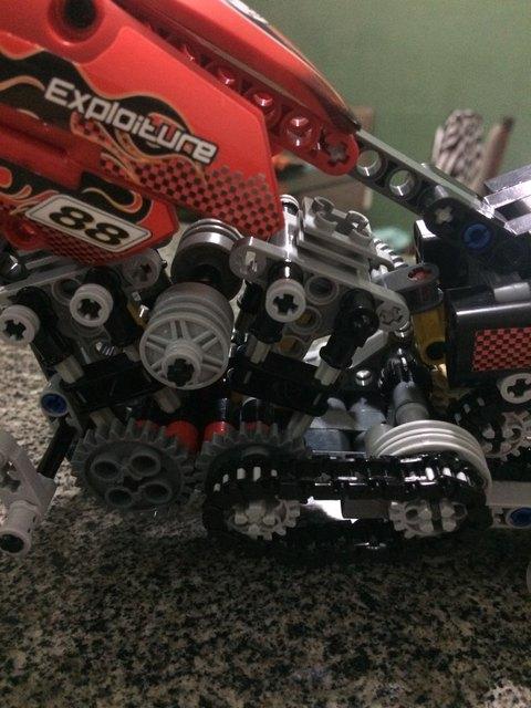 HOT 378Pcs Technic Motorcycle Exploiture Model Harley Vehicle Building Bricks Block Set Toy Gift Compatible With Legoe 1