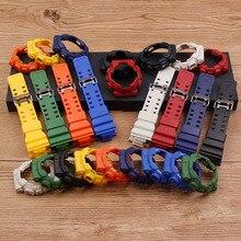 Аксессуары для часов Ремешок из смолы для Casio G-SHOCK GD GA GLS-100 110 120 чехол набор мужской ремешок 16 мм