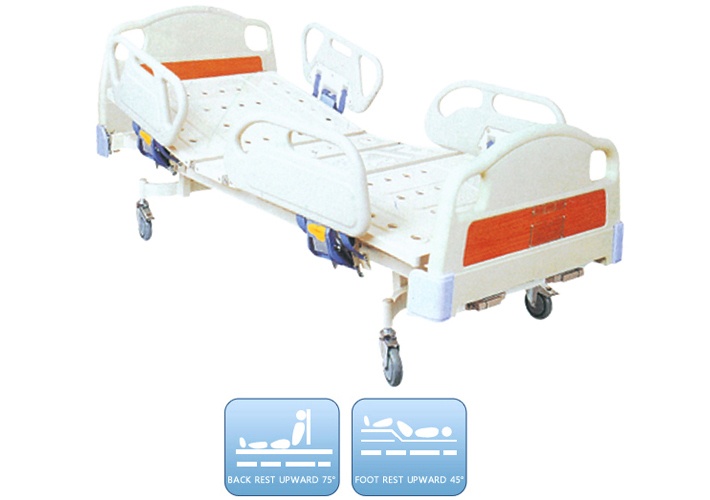 DW BD173 Hospital bed Manual bed with 2 functions-in Emergency Kits
