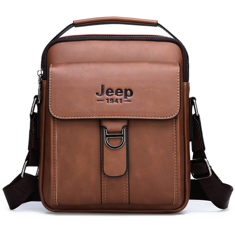 Luxury Brand JEEP Bag Men Vintage Shoulder Bag For Man Leather Messenger Bag Casual Crossbody Bag Male Business Handbag For IPADLuxury Brand JEEP Bag Men Vintage Shoulder Bag For Man Leather Messenger Bag Casual Crossbody Bag Male Business Handbag For IPAD