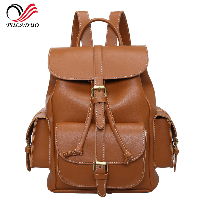 2017 New Women Backpack Vintage Backpacks for Teenage Girls Fashion Travel Pack Bags High Quality