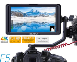FEELWORLD F5 5 Inch 4K HDMI DSLR Camera Field Monitor 1920x1080 Display for Sony Nikon Canon DJI ronin s zhiyun crane 2 Gimbal