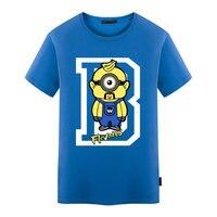 Funny Cartoon Design Printed T Shirt Summer O Neck Boy Men's Novelty Short Sleeve Tee Tops Plus Size S-5XL