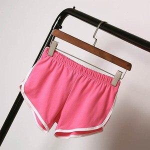 Image 5 - Summer Shorts Women High Waist Elastic Loose Casual Short Harajuku Beach Sexy Short Femme Workout Waistband Skinny Short Pants