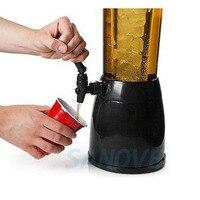 2.5L Beer Machine Ice Core Beverage Dispenser Beer Dispenser for Water Soft Drinks Juice Soda Water Beer Dispenser Machine Drink