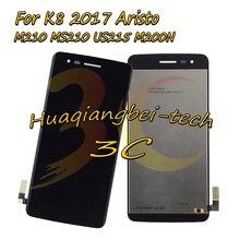 Купить Черный 5.0 »Новый для LG K8 2017 aristo M210 MS210 US215 M200N полный ЖК-дисплей дисплей + Сенсорный экран планшета Ассамблеи 100% тестирование
