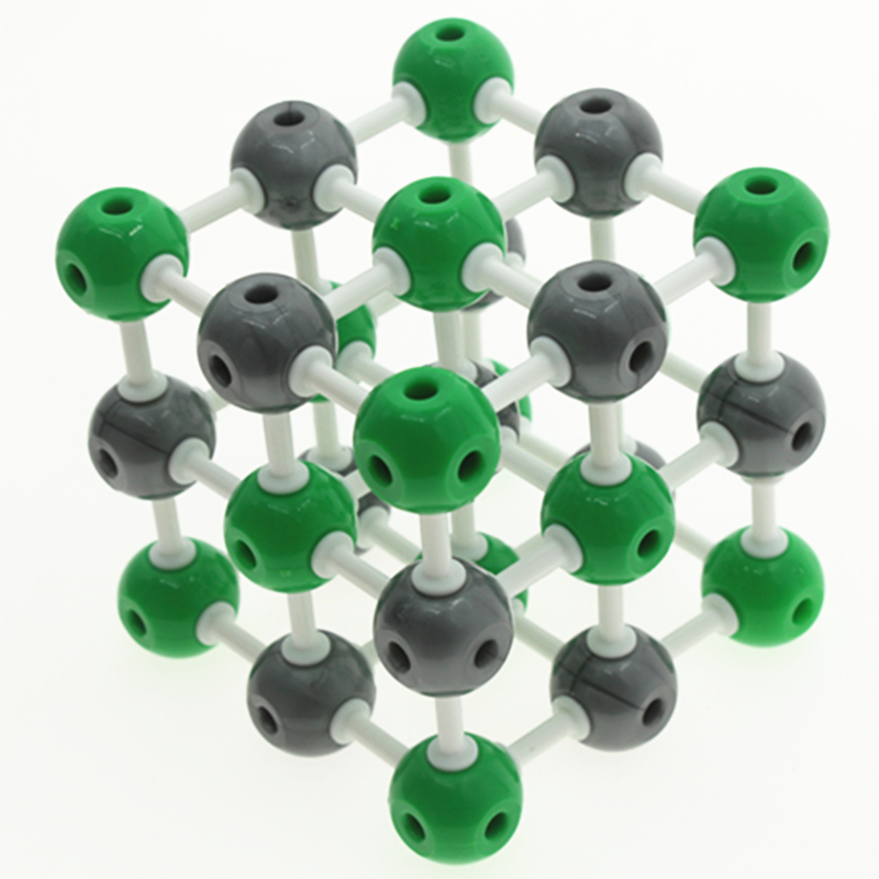 23mm Sodium Chloride Molecular Structure Model,NaCl Crystal structure model,Sodium chloride Unit cell,Chemistry teaching east of the chesapeake
