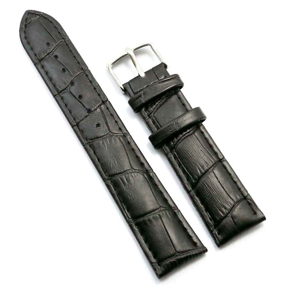 Strap Male Genuine Leather Men Women Watch Strap Female 18mm 20mm 22mm 24mm 26mm Watch Band