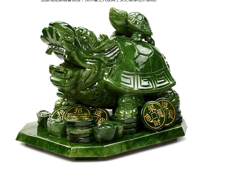 real natural jade dragon turtle wenchang tower is a natural south jade mother-son statues animal head sculpture Decorationreal natural jade dragon turtle wenchang tower is a natural south jade mother-son statues animal head sculpture Decoration