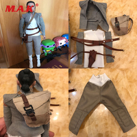 1 6 Scale Star Wars Female Clothes Rey Costume Combat Uniforms Girl Clothing For 12 Inches