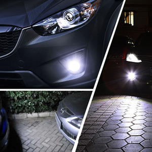 Image 5 - 2 قطعة H11 H8 HB4 9006 HB3 9005 الضباب أضواء 3030 رقائق LED مصباح DRL سيارة القيادة مصباح جيد الإضاءة السيارات المصابيح لمبة الأبيض 12 فولت