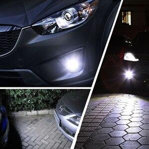 Image 5 - 2 sztuk H11 H8 HB4 9006 HB3 9005 światła przeciwmgielne 3030 chipy LED lampa DRL jazdy samochodem reflektor do jazdy dziennej żarówki samochodowe LED żarówka biały 12V