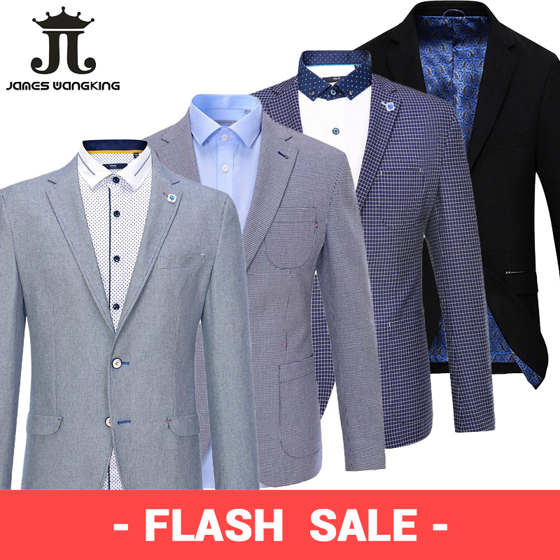 Autumn Suit Jacket Casual Blazer Foreign-Trade Male Men's Spring Single-Brand Factory-Tail