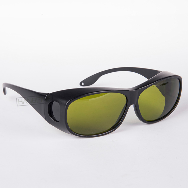laser safety <font><b>glasses</b></font> for 190-<font><b>450nm</b></font> & 800-1700nm O.D 4 + CE High VLT% for blue laser and 808-810nm, 980nm and 1064nm lasers image