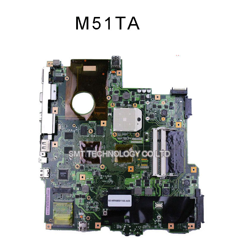 FREE SHIPPING Motherboard for Asus M51T M51TR M51TA Mode 8*Graphics Memory hd3650100%Tested perfect