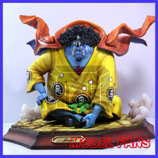 MODEL FANS One Piece 27cm Jinbe Sitting position gk resin toy Figure for Collection model fans in stock copy version one piece 25cm boa hancock sitting position gk resin toy figure for collection