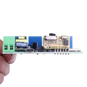 Image 5 - 220V 4 قناة Wifi تتابع وحدة الهاتف APP اللاسلكية التحكم عن بعد WIFI التبديل هرول الذاتي قفل التعشيق + 433M التحكم عن بعد