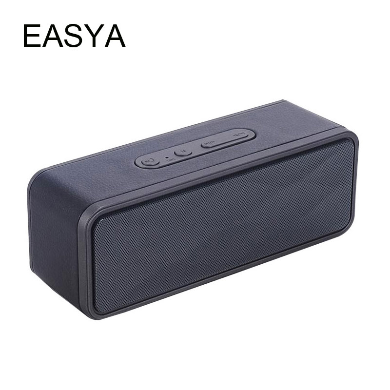 EASYA Dropship Bluetooth Speaker Mini Wireless Speakers With Mic Soundbar Super Bass Sound Support TF Card  For Phone Use
