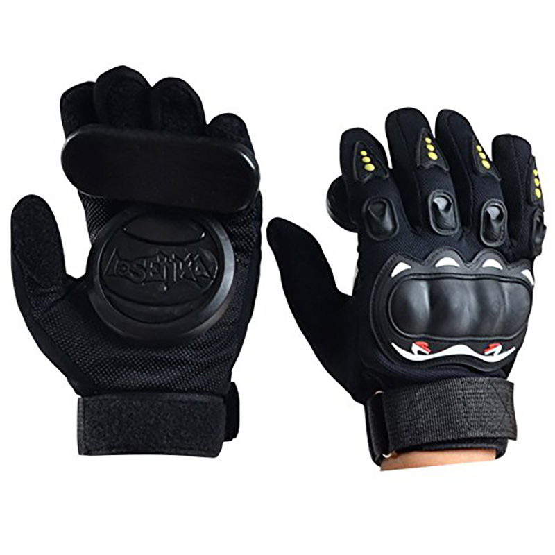 Professional Longboard Gloves Protective Wear Resisting Slide Roller Skateboard Skate Gloves Down Hill Skate Accessories
