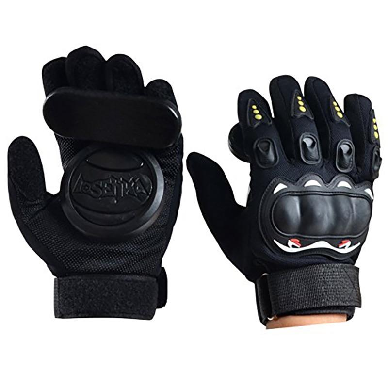 Professional Longboard Gloves Protective Wear Resisting Slide Roller Skateboard Skate Gloves Down Hill Skate Accessories