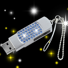 Diamond Jewelry Gift Creative Memory Drive Usb Flash Drives Presente Pendrive 64 GB Pen Driver 64GB Usb Stick Pen Drive 32GB