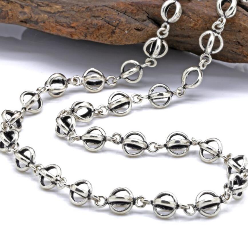 7 millimetri piccola lanterna catena a maglia della collana 925 gioielli in argento7 millimetri piccola lanterna catena a maglia della collana 925 gioielli in argento