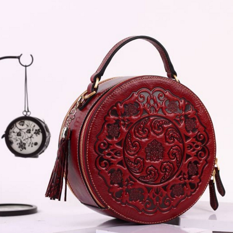 2019 Chinese Style Genuine Embossed Leather High Quality Women Handbags Tote Bag Famous Brand Shoulder Corssbody Bags For Women2019 Chinese Style Genuine Embossed Leather High Quality Women Handbags Tote Bag Famous Brand Shoulder Corssbody Bags For Women