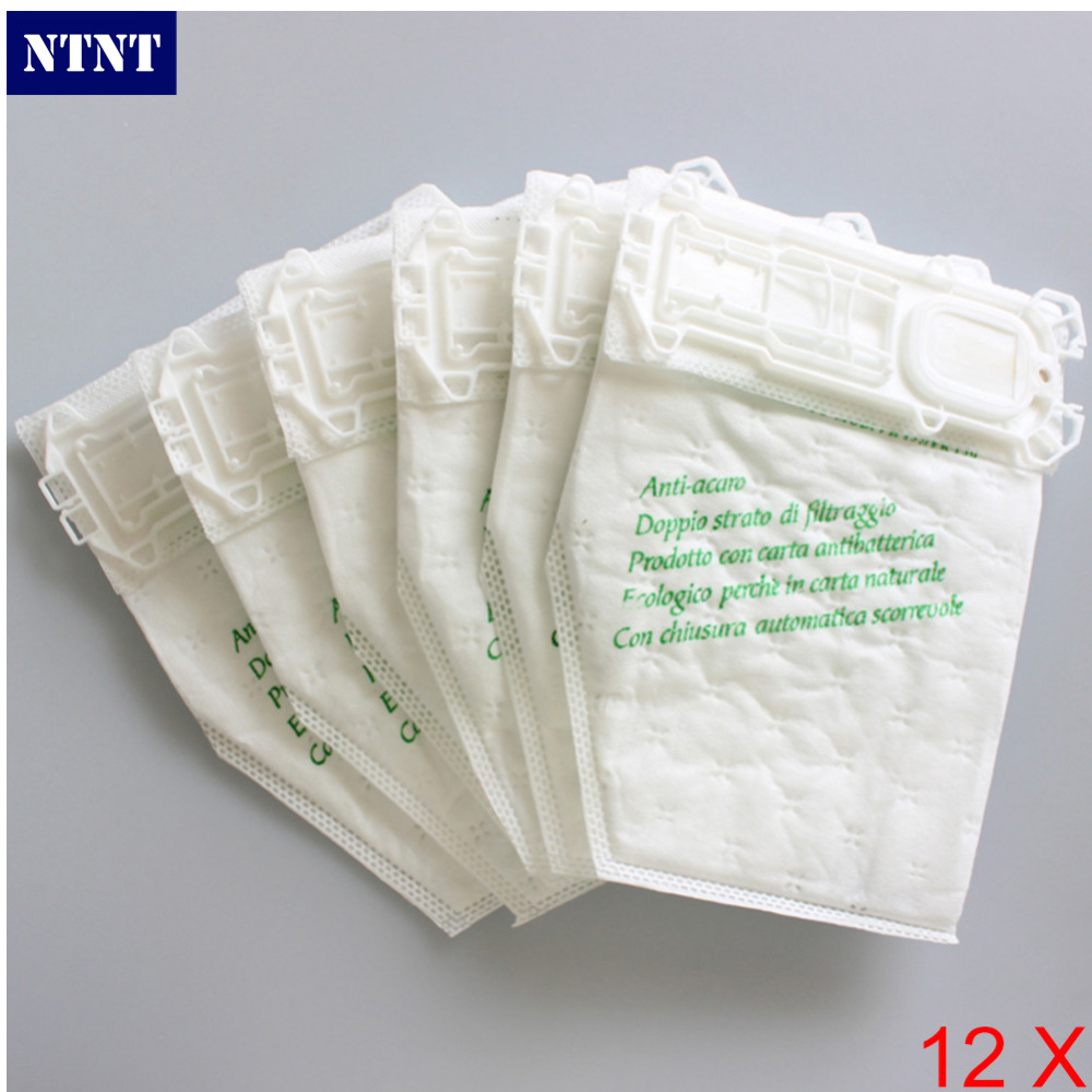 NTNT 12 pcs/lot vacuum cleaner bags Dust Bag for Vorwerk VK135 VK136 FP135 FP136 KOBOLD135 KOBOLD136 VK369 настольная лампа favourite декоративная wendel 1602 1t