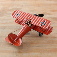 2016 Aircraft Model Metal Crafts Creative Gift Mini Shooting Props Miniature Ornaments Home Decoration