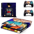 Anime Dragon Ball Super The Black PS4 Skin Sticker Decal Vinyl For Sony PS4 PlayStation 4 Console and 2 Controller Stickers
