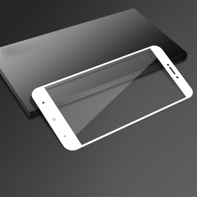 Image 4 - 3D Curved Full Cover Tempered glass For xiaomi redmi 4X film glass on for xiaomi redmi4X protective glass Full Cover 9H 3d cover-in Phone Screen Protectors from Cellphones & Telecommunications