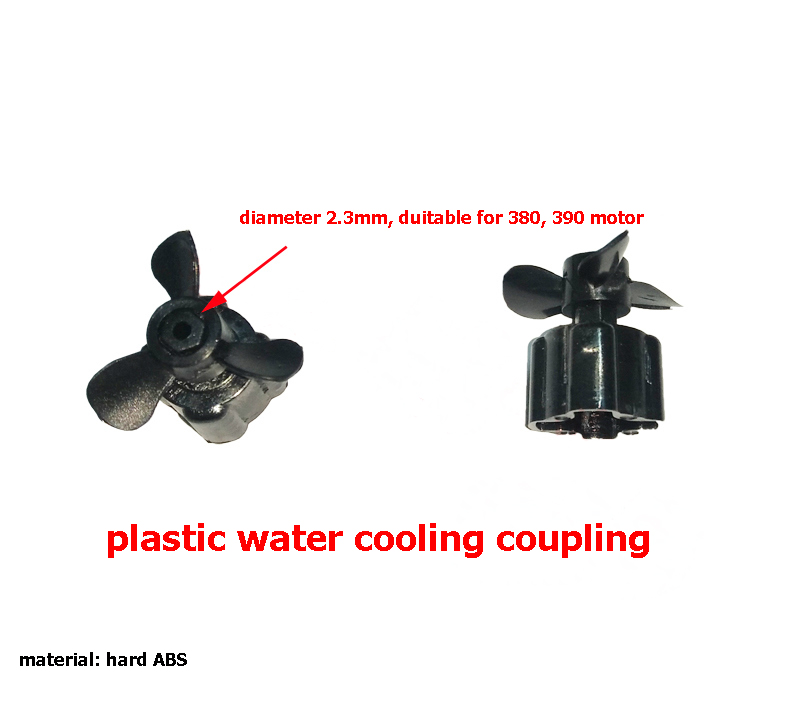 1Set Doubl Motor RC Boat Accssories 2.3mm Plastic Water Cooling Coupling + Motor Fixing Mount + Motor Seat Bracket Support Parts