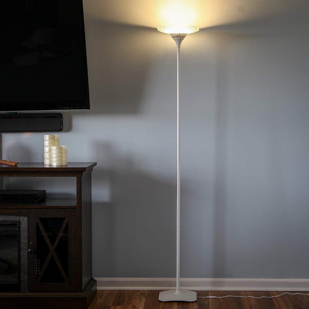 Led Torchiere Floor Lamp Art Deco