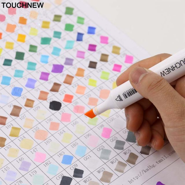 Online Shop TOUCHNEW Markery 30/60/80 Colors Artist Dual Headed ...