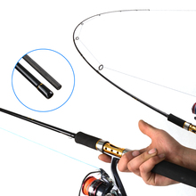 1.98m Spinning Fishing Rod M Power Vara De Pescar Carbon Travel Spinning Rods 2 section  Lure Weight 10-30g Fishing pole outad portable stripper pole fitness exercise spinning dancing steel pole 2 3 2 7m professional dancing spinning pole