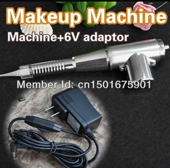 35000r Best  Permanent Makeup  Machine For Eyebrow LIP Free Shipping 35000r import permanent makeup machine best tattoo makeup eyebrow lips machine pen