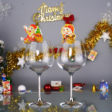 626ml lead free wine glasses wedding red wine glasses set with stem filled rhinestones and crystal