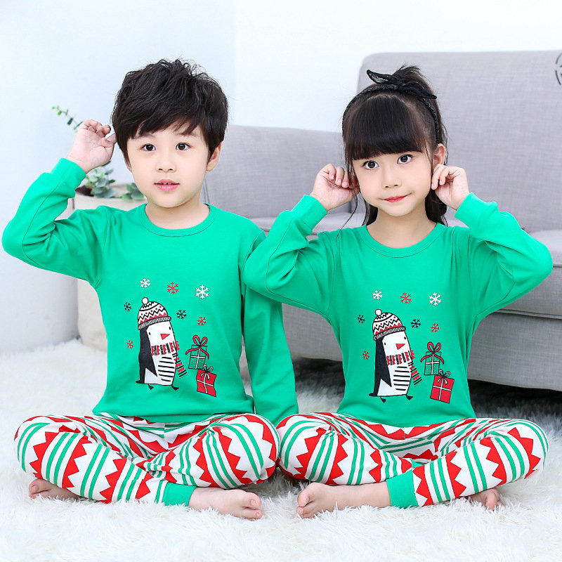 Kids Christmas   Pajamas   Children Sleepwear Baby   Pajamas     Sets   Boys Girls Halloween Pyjamas Pijamas Cotton Nightwear Kids Clothes