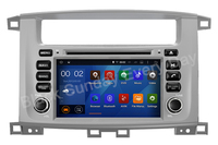 Android 9.0 RAM 2G Fit TOYOTA LAND CRUISER 100 1998 to 2007 , LC 100 CAR DVD Player Navigation GPS Multimedia AUDIO DVD GPS NAVI