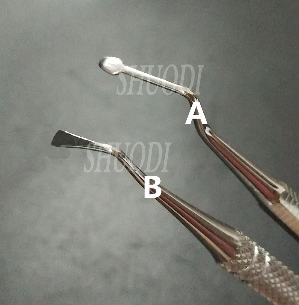 dental zahnfleisch rückzug packer werkzeug instrument edelstahl