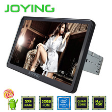 """Joying New Android 5.1 system 10""""  Single DIn Car Stereo Video 1024*600 HD GPS Navigation Support TV OBD 2 DVR WIF 4G DAB VIDEO"""